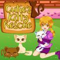 Jeu Cutie's Kitty de Sauvetage