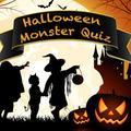 Jeu Halloween Monster Quiz