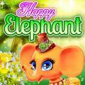 Jeu Heureux D'Éléphant