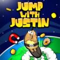 Jeu De Saut Avec Justin