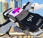 Polizei Fliegendes Auto Simulator