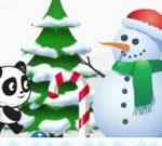 Jeu Noël Panda Run