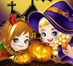 Elsa Et Anna Histoire De Halloween
