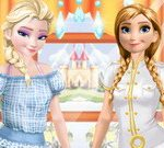 Elsa Et Anna Travail Dress Up