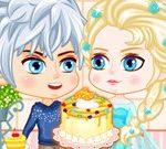 Elsa le Gâteau d'Anniversaire de