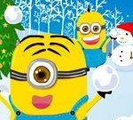 Les Minions De Noël Boule De Neige Guerres