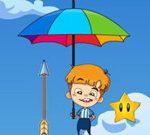 Parapluie Chute Gars