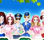 Professionnelle Girl dressup