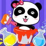 Un Bébé Panda De Couleur Studio De Mixage
