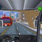Jeu Service De Transport De Passagers Par Autobus De Transport