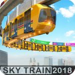 Elevated Train Driving Simulator Sky Tram Driver