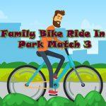 Jeu La Famille Balade À Vélo Dans Le Parc De Match 3