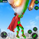 Light Speed Superhero Rescue Mission