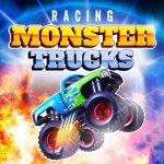 Mega Course De Camion Monstre Jeu De Course De Camion