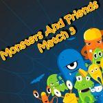 Les Monstres Et Les Amis De Match 3