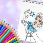Jeu Princesse Incroyable Livre De Coloriage