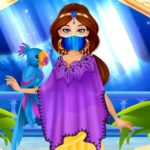 Jeu Arabian Princess Dress Up