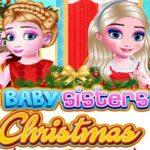 Jeu Bébé Sœurs Jour De Noël