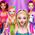 Jeu Brillant Popstar Filles Dress Up