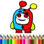Jeu de BTS OddBods Livre de Coloriage