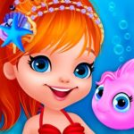 Jeu Cute Mermaid Dress Up