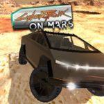 Jeu CyberTruck auf dem Mars