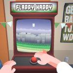 Jeu Flappy Heureux D'Arcade