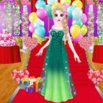 Jeu Princesse de Glace est en train de préparer pour le bal de printemps