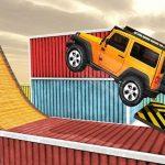 Impossible De Pistes Jeep Stunt Jeu De Conduite