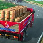 Jeu Indien Chauffeur De Camion De Fret Obligation De Livraison