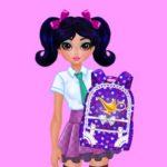 Jeu Jasmine et Elsa – Sac d'École Concours de Design
