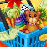 Jeu De Couleur Les Enfants Aller Faire Du Shopping Supermarché