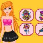La Princesse Artiste De Tatouage