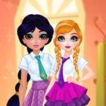 Jeu Princesses BFF Rush à l'École
