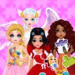 Jeu de Puzzles Princesses et les Anges de New Look