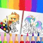 Jeu Sweet Pony Coloring Book