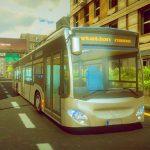 La Ville De Chauffeur De Bus