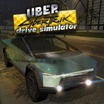 Uber CyberTruck Lecteur Simulateur