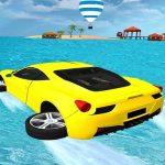L'eau de Surf Cascades Jeu 3D