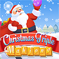 Noël Triple Mahjong