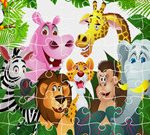 Le Roi De La Jungle Puzzle