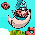 Je mange des Donuts