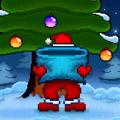 Toucher et de la pêche de Santa